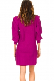 Silvian Heach |  Sweater dress with balloon sleeves Kettering | purple  | Picture 6