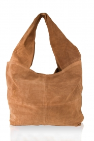 Leren shopper Flatbush | camel