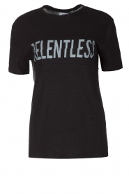 T-shirt Relentless | zwart