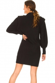 Silvian Heach |  Sweater dress with balloon sleeves Kettering | black  | Picture 7