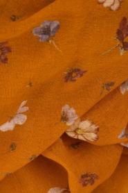 Becksöndergaard | Sjaal Amaui | oranje  | Afbeelding 3