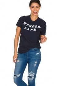 Zoe Karssen |  T-shirt Wonderland | dark blue  | Picture 4