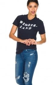 Zoe Karssen |  T-shirt Wonderland | dark blue  | Picture 2