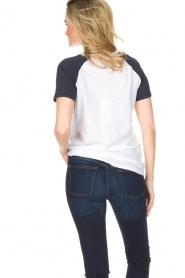 Zoe Karssen | T-shirt Lévres de Sang | wit  | Afbeelding 4