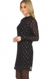 Dante 6 |  Dress Cassia |  black  | Picture 4