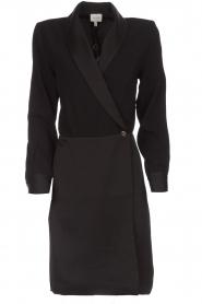 Dante 6 | Blazer jurk Marigold | zwart  | Afbeelding 1