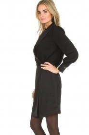 Dante 6 | Blazer jurk Marigold | zwart  | Afbeelding 4