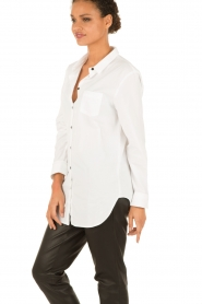 Amatør | Blouse Diamond | wit  | Afbeelding 4