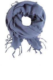 Sjaal Masozi | blauw