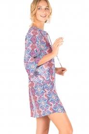 Alice & Trixie | Zijden jurk Liza | print  | Afbeelding 4