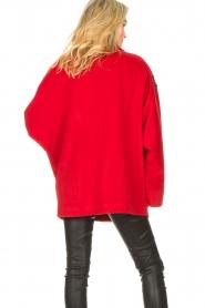 Silvian Heach   Jas met strass steentjes Kellaf   rood    Afbeelding 7