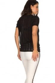 Zoe Karssen | T-shirt Climbing Leopard | zwart  | Afbeelding 5