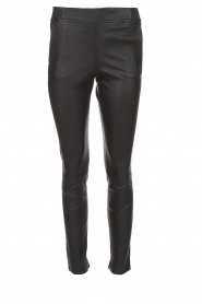 Dante 6 |  Leather legging Lebon | blue  | Picture 1