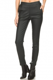 Dante 6 |  Leather legging Lebon | blue  | Picture 2