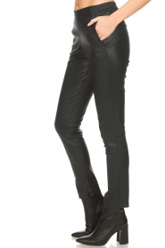Dante 6 |  Leather legging Lebon | blue  | Picture 4