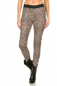 Les Favorites |  Leopard printed legging Vallery  | animal print  | Picture 4