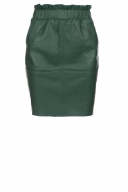 Dante 6 |  Leather skirt Staci | green  | Picture 1