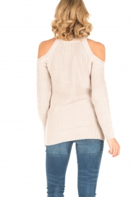 Hunkydory | Cut-out trui Doyle | naturel  | Afbeelding 5