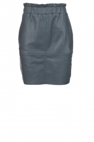 Dante 6 |  Leather skirt Staci | blue  | Picture 1