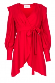Silvian Heach |  Wrapped dress Alkasin | red  | Picture 1