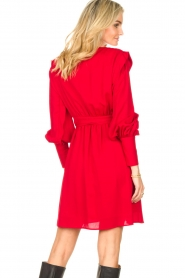 Silvian Heach | Overslag jurk Alkasin | rood  | Afbeelding 6
