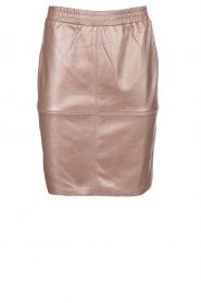 Dante 6 |  Leather skirt Comet | metallic  | Picture 1