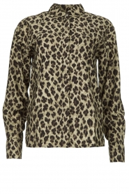 Les Favorites |  Leopard print blouse Fien | animal print  | Picture 1