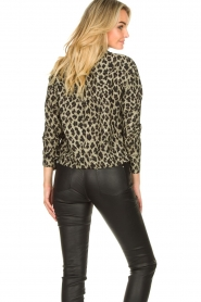 Les Favorites |  Leopard print blouse Fien | animal print  | Picture 6