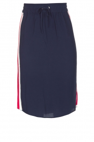 Zoe Karssen |  Sportive skirt Tuxedo | dark blue  | Picture 1