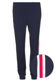 Zoe Karssen | Sportieve broek Tuxedo | donkerblauw  | Afbeelding 1