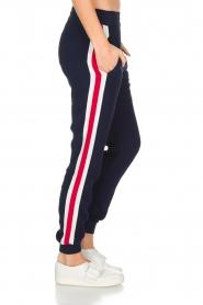 Zoe Karssen | Sportieve broek Tuxedo | donkerblauw  | Afbeelding 4