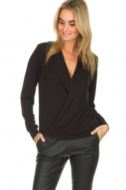 Dante 6 |  Wrap top Verbena | black  | Picture 2
