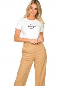 Les Favorites |  Logo T-shirt Bobbi | white  | Picture 2