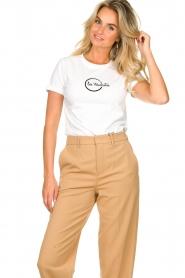Les Favorites |  Logo T-shirt Bobbi | white  | Picture 5