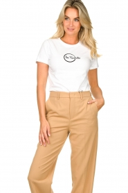 Les Favorites |  Logo T-shirt Bobbi | white  | Picture 4