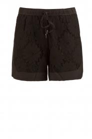 Style Butler |  Silk shorts Azalea | black  | Picture 1