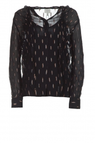 Dante 6 |  Blouse with glitters Ellery | black  | Picture 1