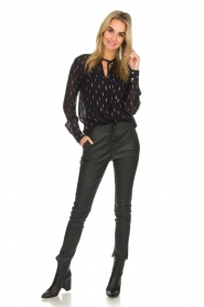 Dante 6 |  Blouse with glitters Ellery | black  | Picture 3