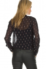 Dante 6 |  Blouse with glitters Ellery | black  | Picture 6