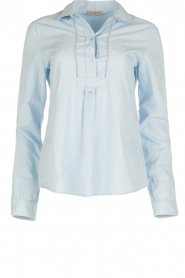 Hunkydory | Blouse Grant | blauw  | Afbeelding 1