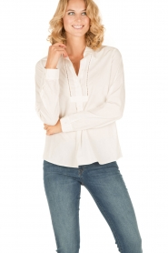Hunkydory | Blouse Grant | wit  | Afbeelding 2