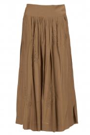 Midi skirt Mandoline | green