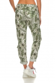 MASONS |  Printed cargo trousers Asia Snake | wit  | Picture 6