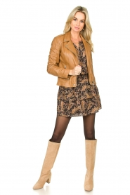 Les Favorites    Paisley print dress Flori   brown    Picture 3