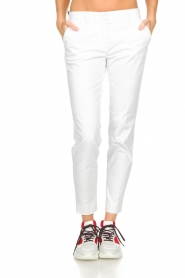 MASONS |  Chino pants New York | white  | Picture 2