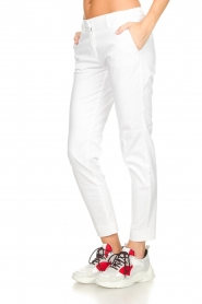MASONS |  Chino pants New York | white  | Picture 4