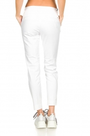 MASONS |  Chino pants New York | white  | Picture 5