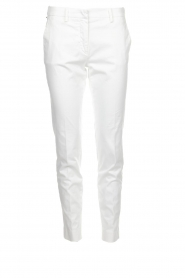 MASONS |  Chino pants New York | white