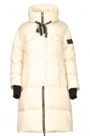 Silvian Heach |  Long down jacket Bodax | natural  | Picture 1
