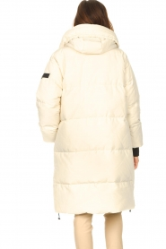 Silvian Heach |  Long down jacket Bodax | natural  | Picture 7